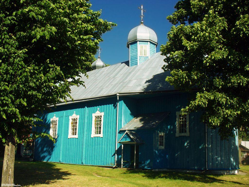Беларусь, Брестская область, Кобринский район, Дивин. Церковь Параскевы Пятницы, фотография.