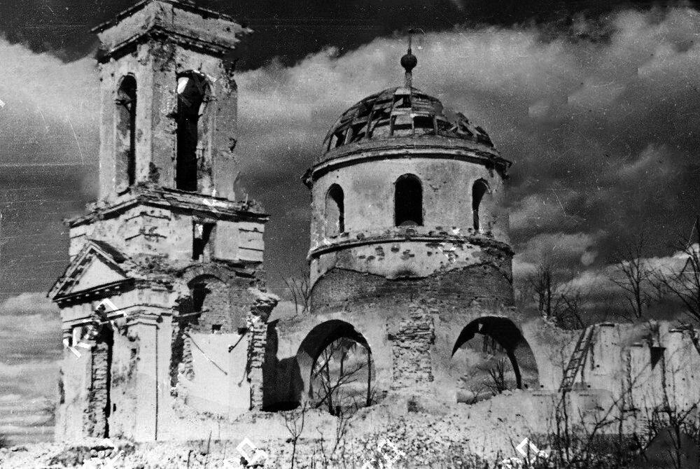 Церковь Троицы Живоначальной, Каменка