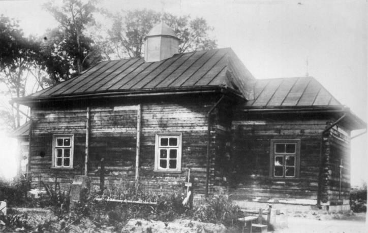 Церковь Спаса Преображения (старая), Пружаны