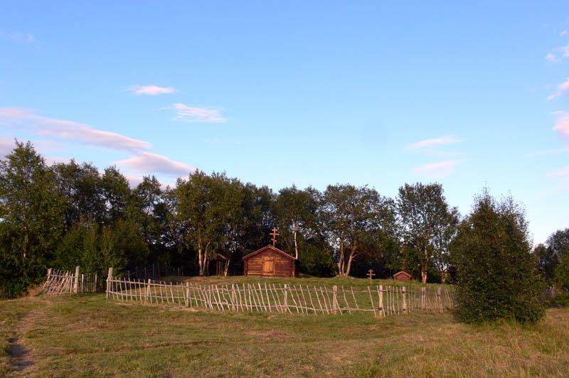 Прочие страны, Норвегия, Нейден. Часовня Георгия Победоносца, фотография. общий вид в ландшафте