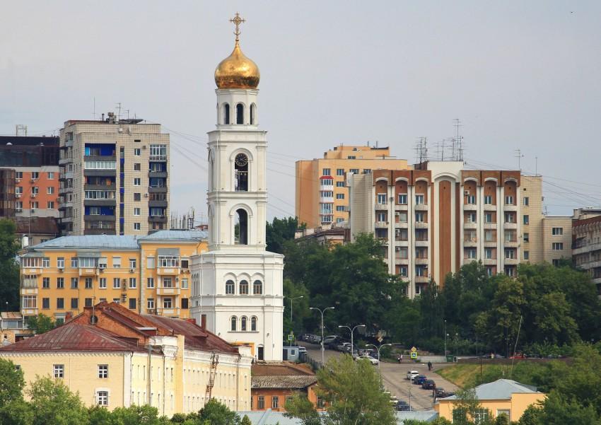 Иверский женский монастырь. Церковь Николая Чудотворца в колокольне (воссозданная), Самара