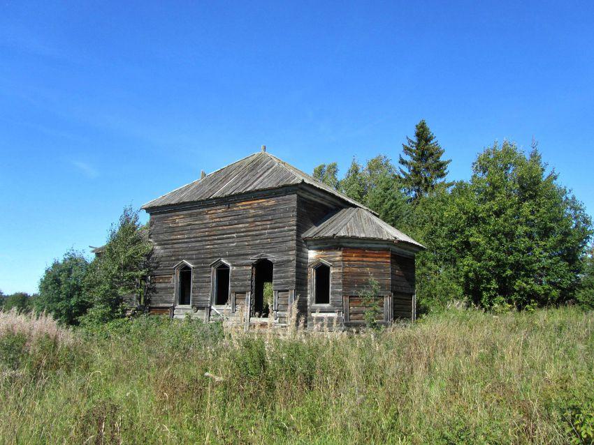 Церковь Георгия Победоносца, Салмозеро-Кузнецовская-Погост