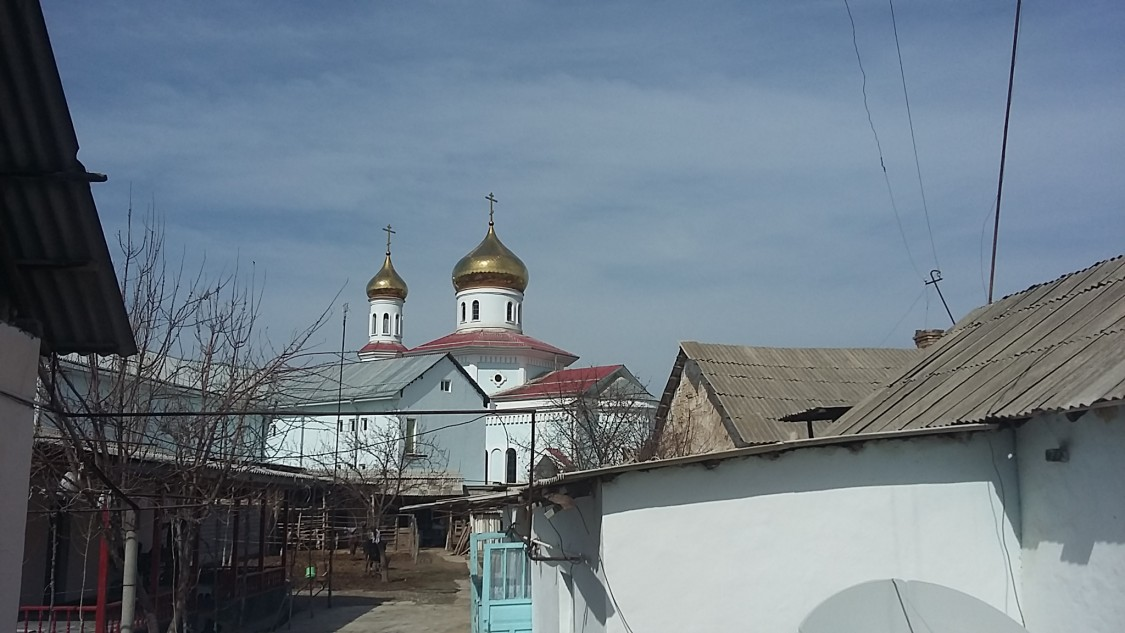 Покровский женский монастырь, Дустабад (Солдатское)