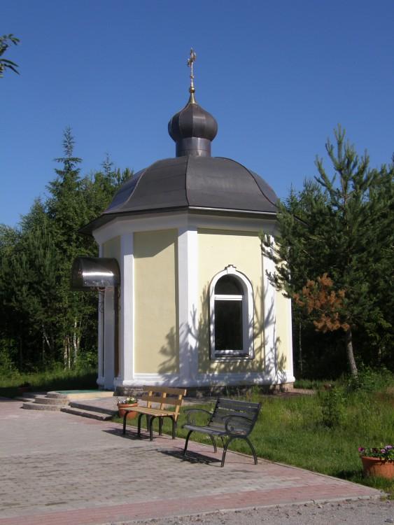 Антониево-Дымский Троицкий мужской монастырь. Часовня Антония Дымского, Броневик