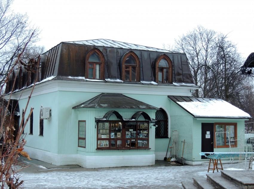 Крестильный храм Богоявления Господня, Москва