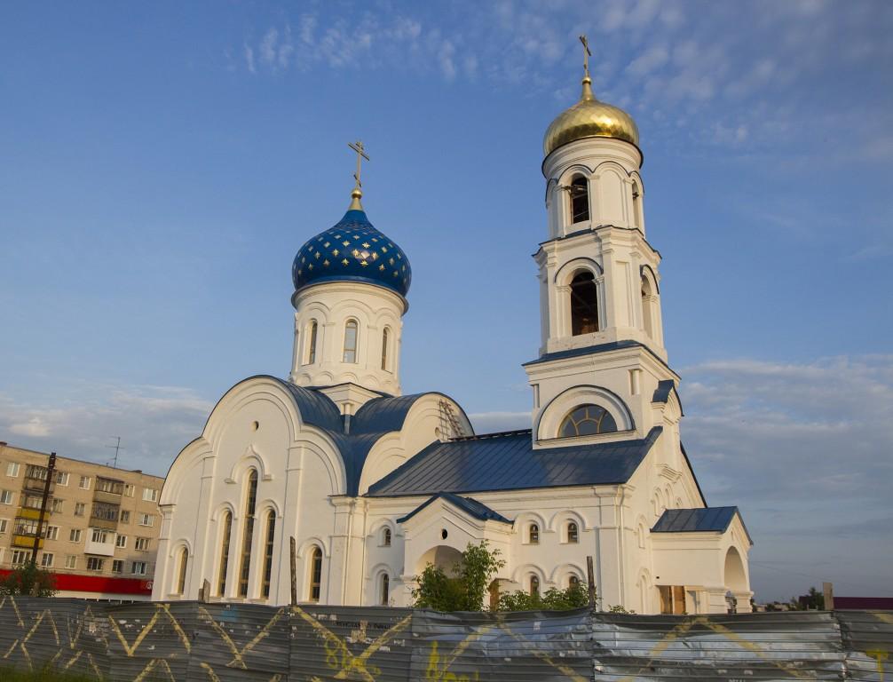 Нижегородская область, Дзержинск, город, Дзержинск. Церковь Серафима Саровского, фотография. фасады
