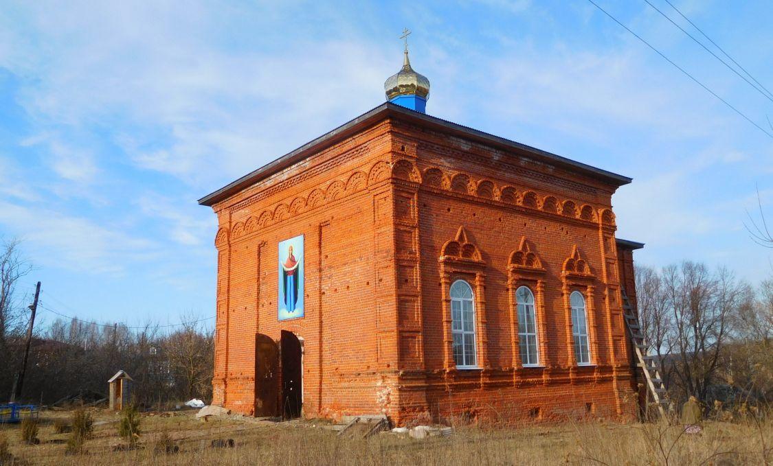 Церковь Покрова Пресвятой Богородицы, Рыбино
