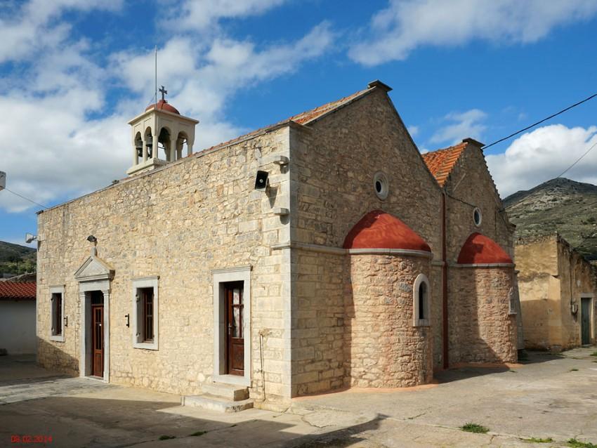 Церковь Иоанна Предтечи и Введения во храм Пресвятой Богородицы, Кастелион