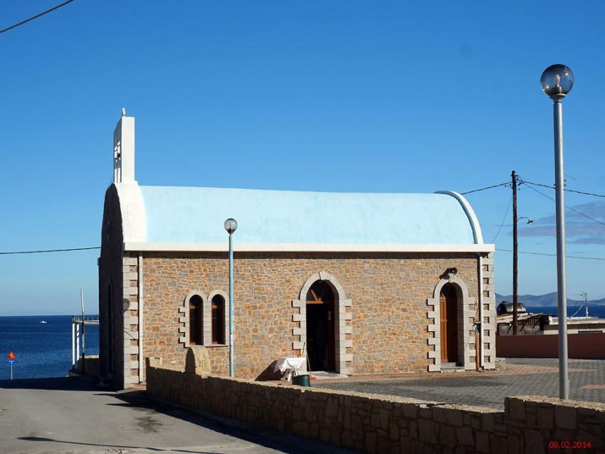 Церковь Нектария Афонского, Ираклион