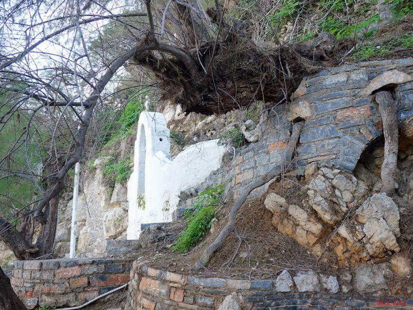 Неизвестная церковь, Айос-Николаос