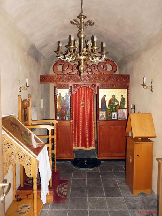 Неизвестная церковь, Вати
