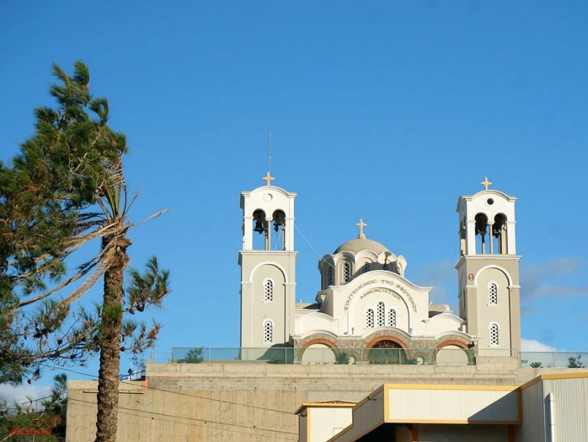 Церковь Благовещения Пресвятой Богородицы, Айос-Николаос