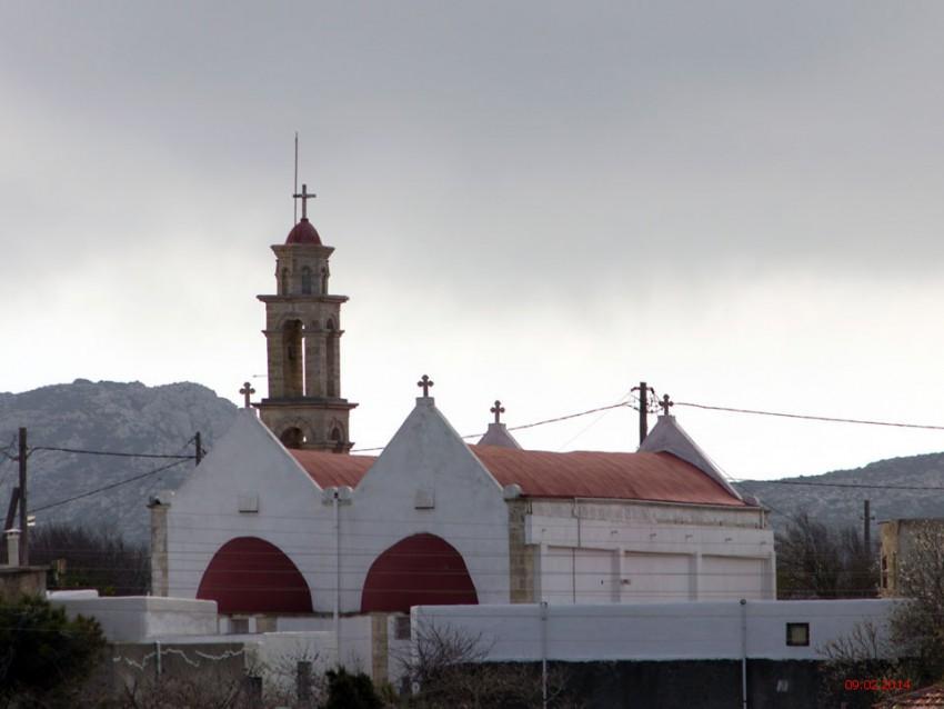 Неизвестная церковь, Хандрас