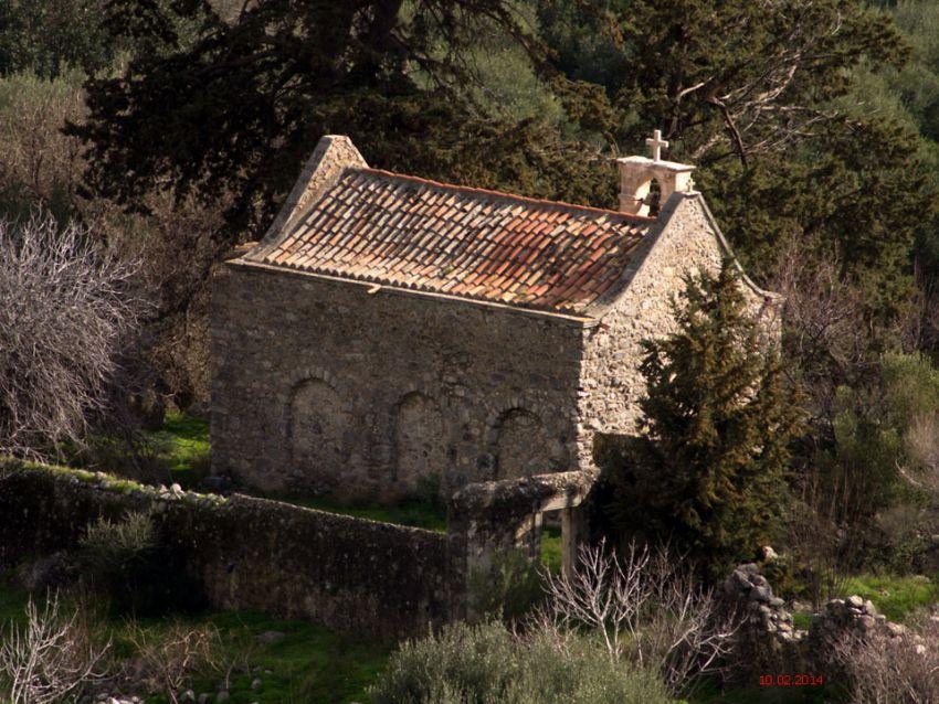 Церковь Георгия Победоносца, Малес