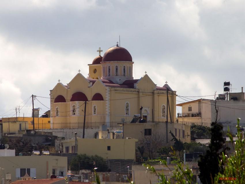 Неизвестная церковь, Пискокефалон