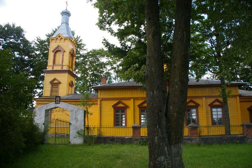 Церковь Покрова Пресвятой Богородицы, Скрудалиена