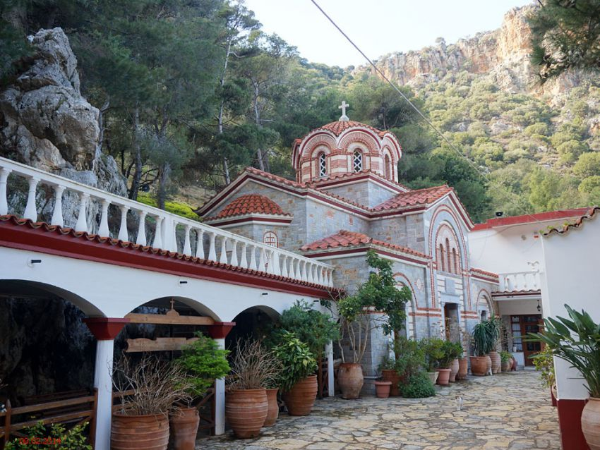Монастырь Георгия Победоносца. Неизвестная церковь, Селинари