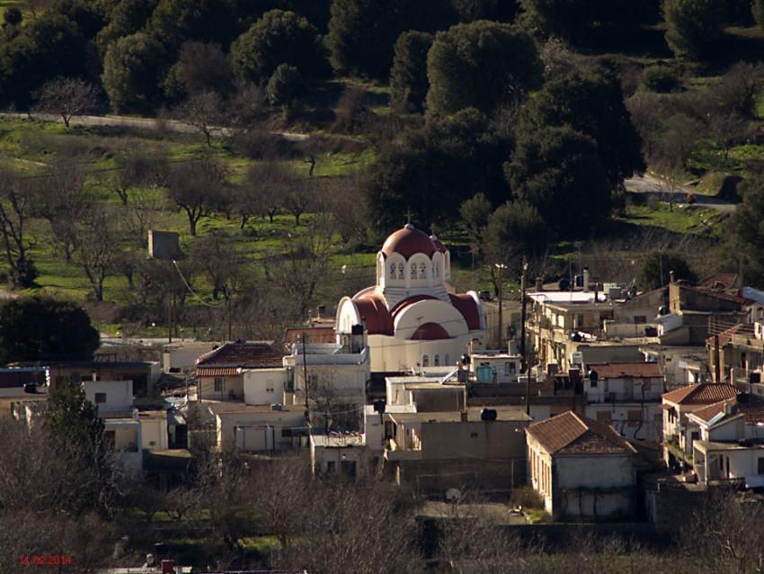 Неизвестная церковь, Меса Ласити