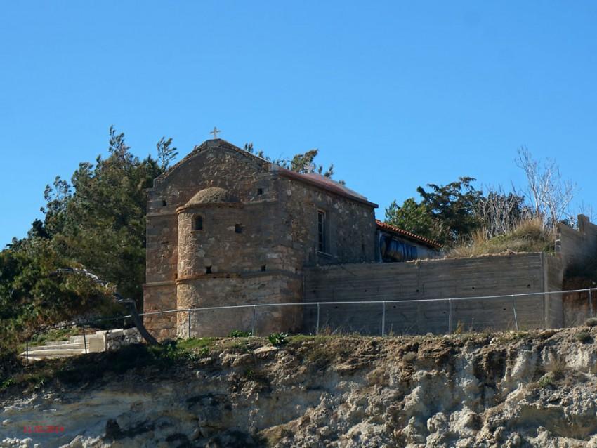 Неизвестная церковь, Пахия-Амос