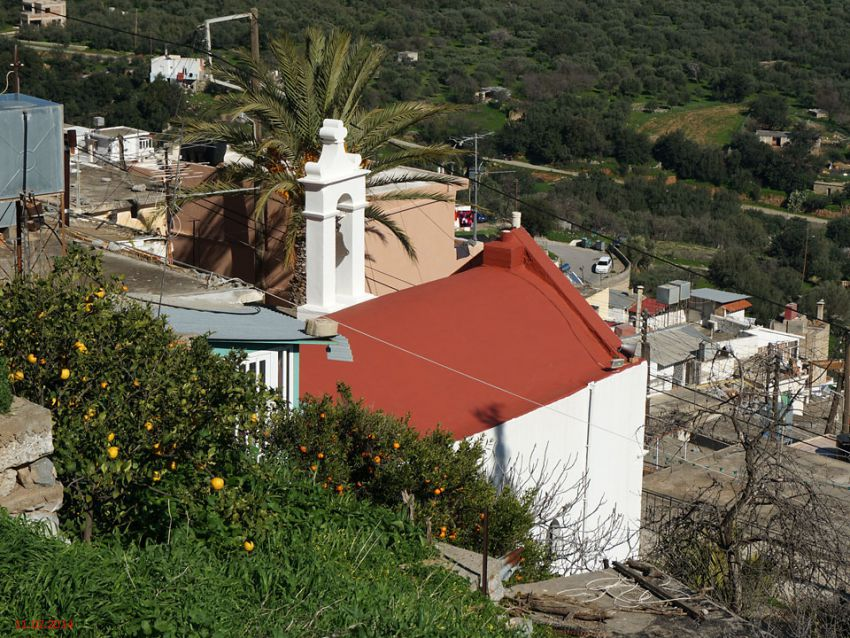 Неизвестная церковь, Крица
