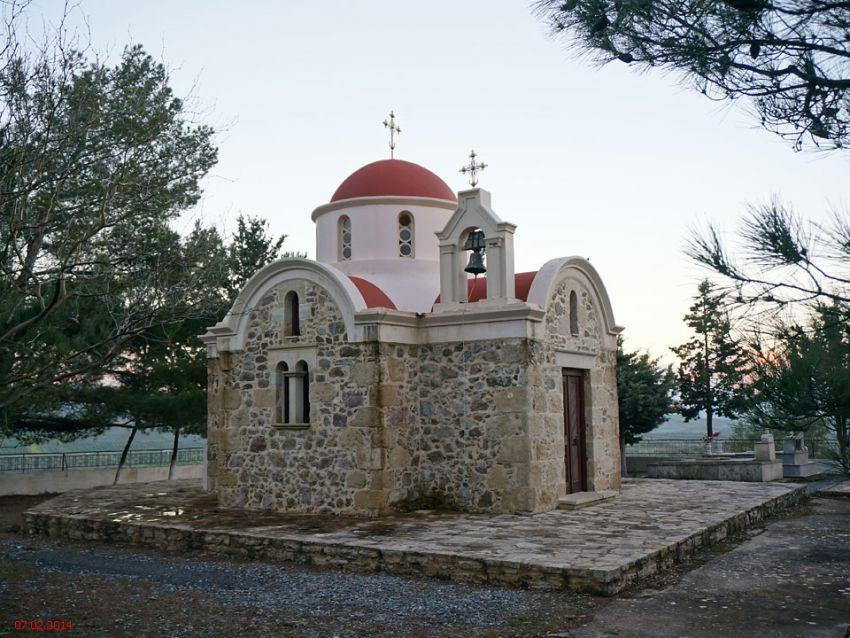 Неизвестная церковь, Метасохори