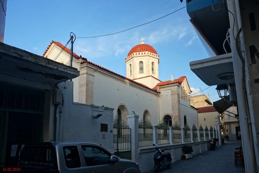 Церковь Варвары великомученицы, Ретимно