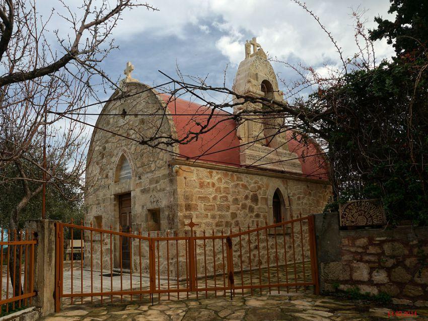 Неизвестная церковь, Мегало Метокси
