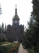 Сосновка. Богородице-Рождественская Глинская Пустынь. Надвратная церковь Иверской иконы Божией Матери