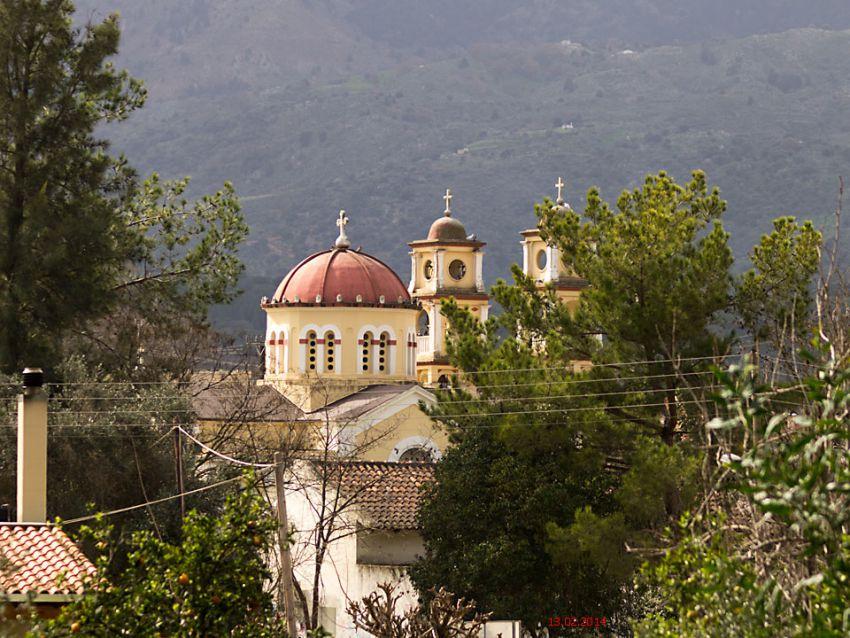 Неизвестная церковь, Врисес