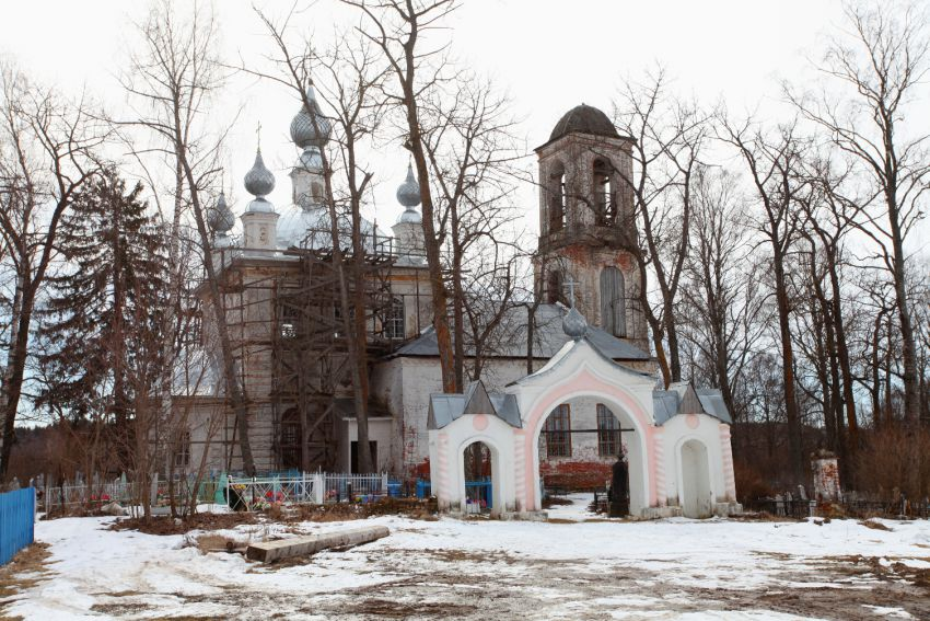 Церковь Воскресения Христова, Воскресенское на Маткоме, урочище