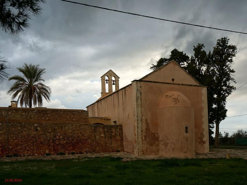 Монастырь Иоанна Милостивого. Неизвестная церковь, Паксинос