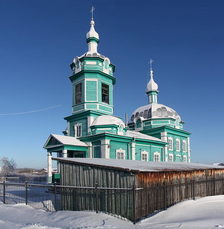 Церковь Николая Чудотворца, Иткуль