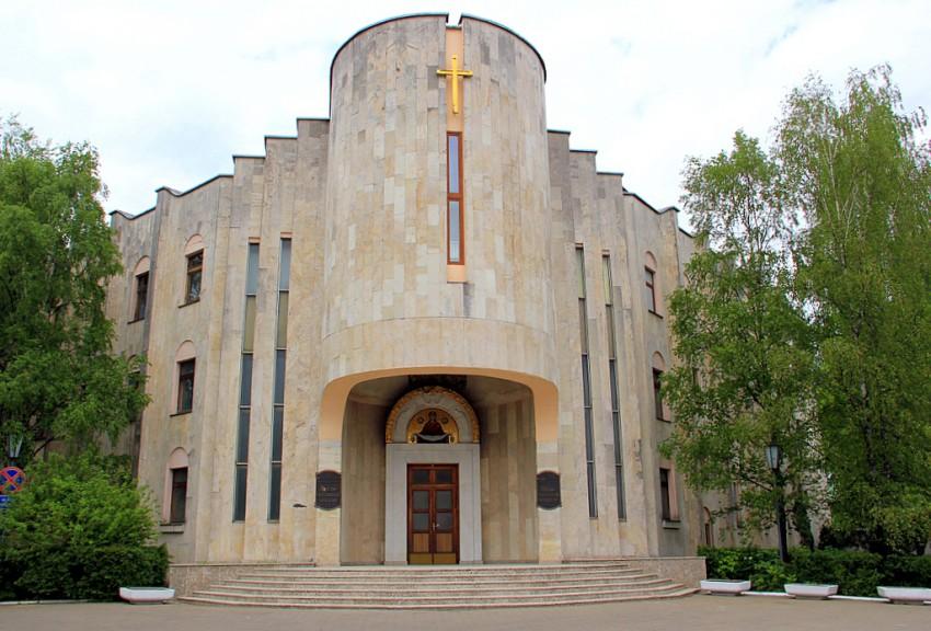 Церковь Собора Белорусских святых при управлении Белорусской Православной церкви, Минск