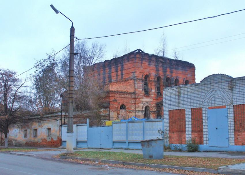 Самарская область, Сызрань, город, Сызрань. Церковь Николая Чудотворца, фотография. общий вид в ландшафте