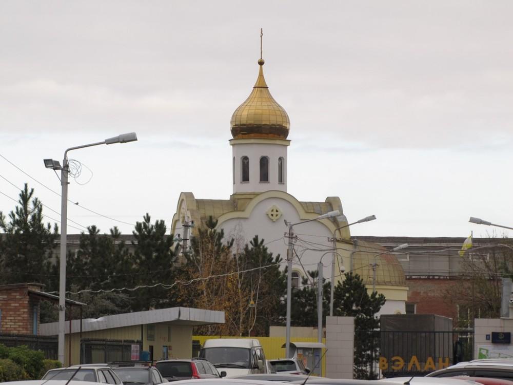 Ставропольский край, Советский район, Зеленокумск. Церковь Николая Чудотворца, фотография. фасады