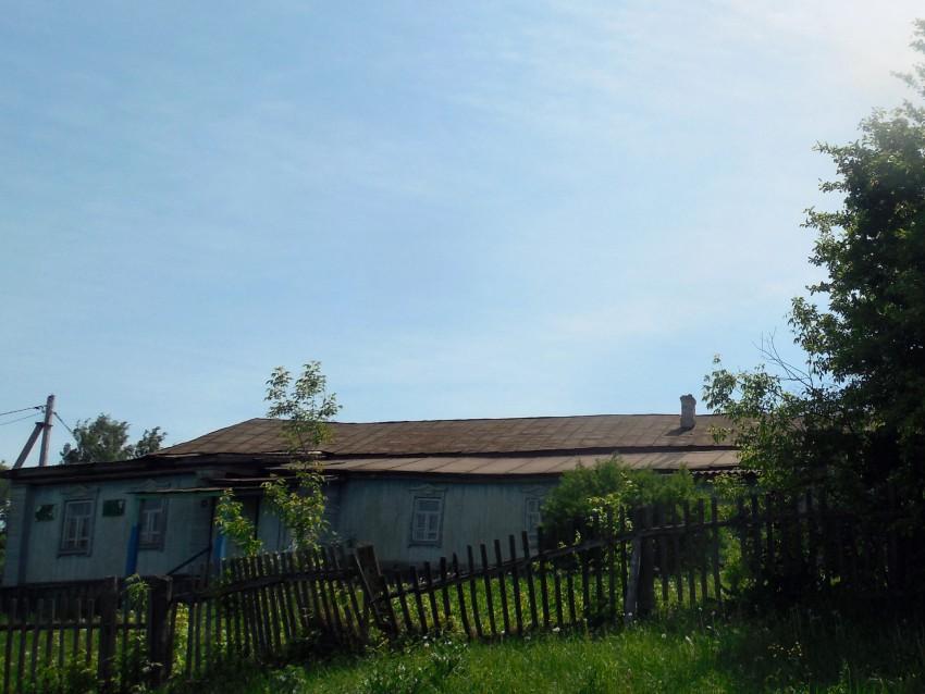 Республика Татарстан, Кайбицкий район, Бушанча. Церковь Михаила Архангела, фотография. фасады