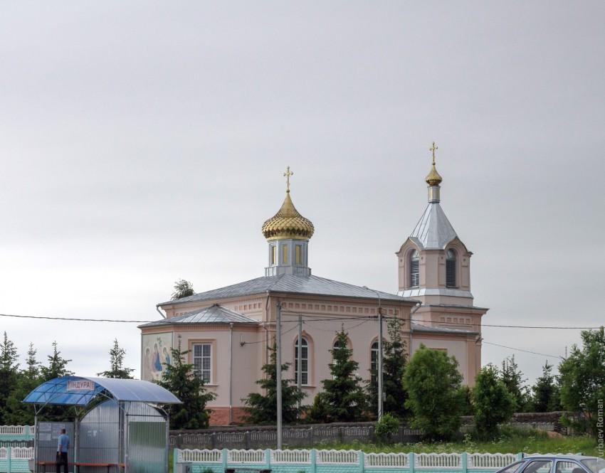 Церковь Александра Невского, Индура