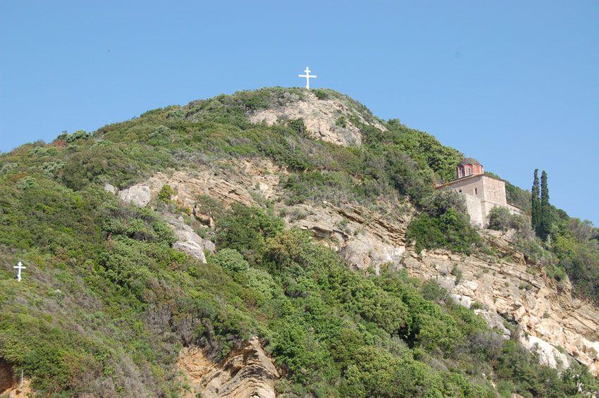 Церковь Антония Печерского, Афон (Ἀθως)