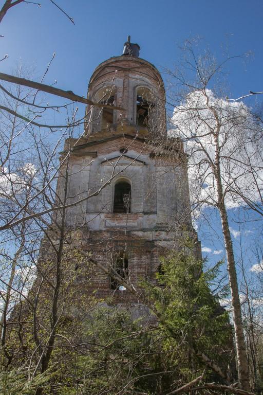 Церковь Николая Чудотворца, Николо-Высокое, урочище