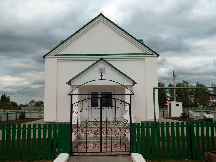 Самарская область, Приволжский район, Заволжье. Церковь Богоявления Господня, фотография. фасады