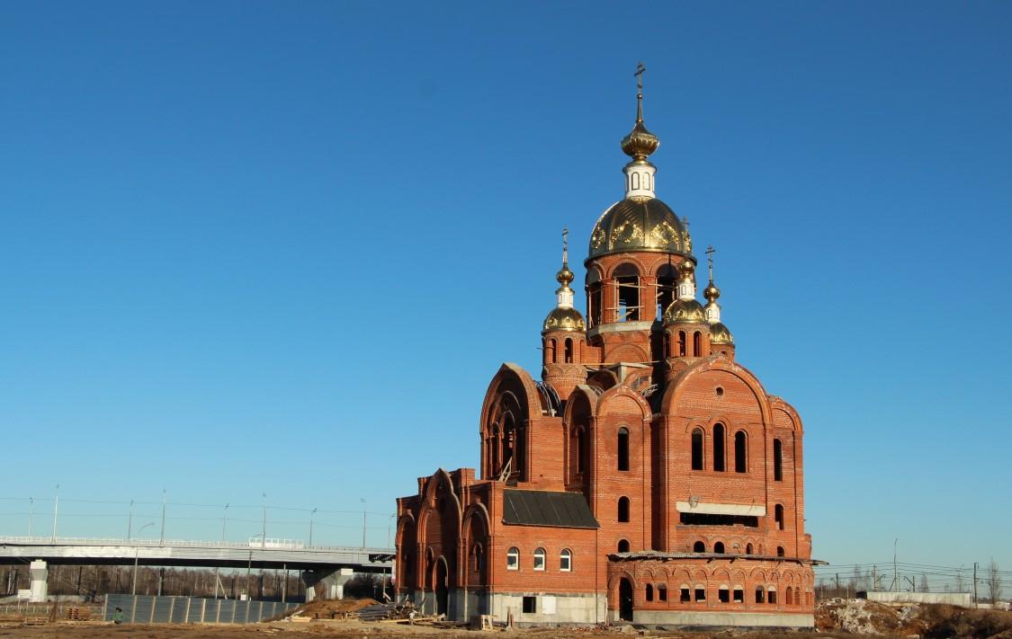 Церковь Всех Святых, в земле Российской просиявших (строящаяся), Ступино