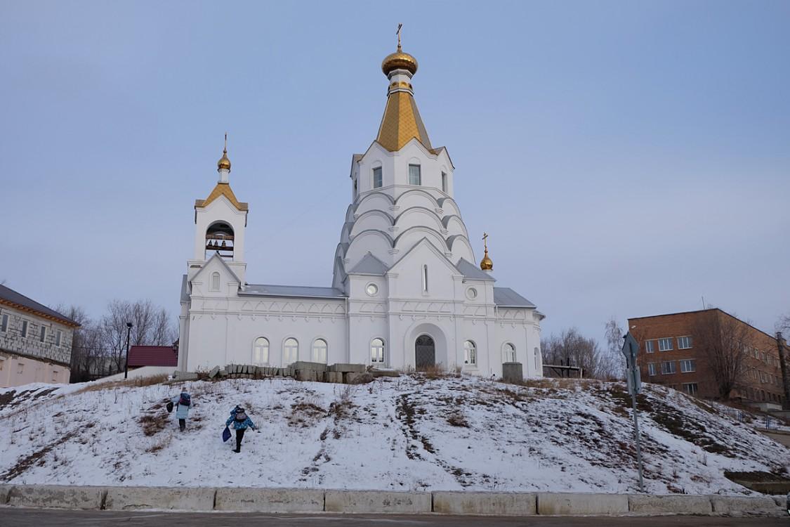 Церковь Вознесения Господня, Октябрьск