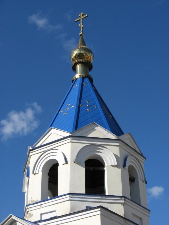 Кизический Введенский монастырь. Колокольня (новая), Казань
