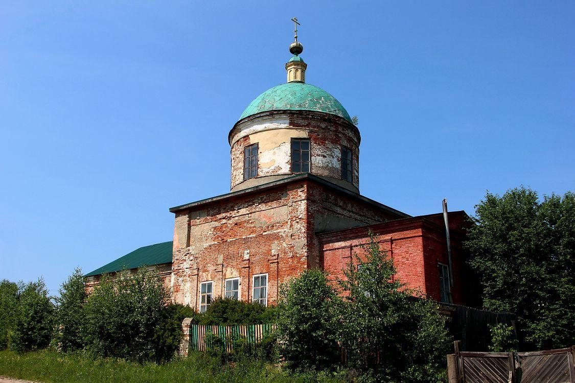 Церковь Казанской иконы Божией Матери (новая), Богородское