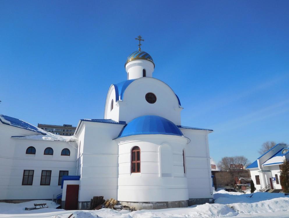 Самарская область, Тольятти, город, Тольятти. Церковь Богоявления Господня, фотография. фасады