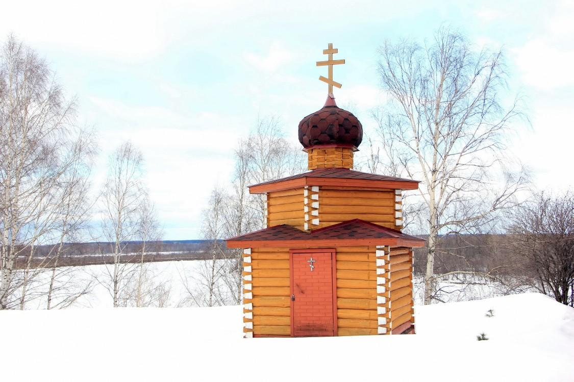 Кировская область, Советский район, Метели. Неизвестная часовня, фотография. фасады