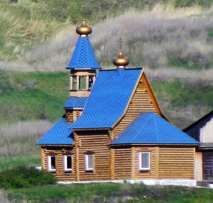 Симеоновский Благовещенский мужской монастырь. Церковь Сергия Радонежского (?), Кашпирский монастырь, урочище