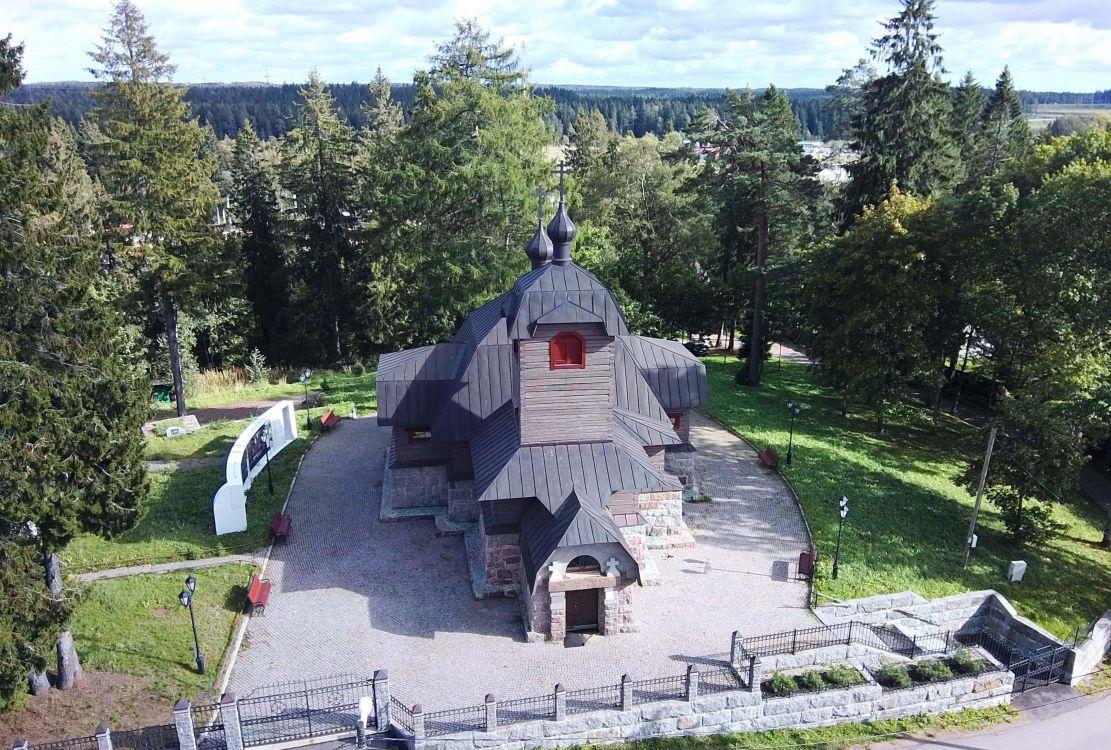 Церковь Троицы Живоначальной, Огоньки