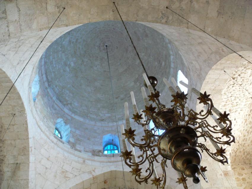 Прочие страны, Израиль, Иерусалим - Новый город. Монастырь Святого Креста, фотография. интерьер и убранство, Купол монастырского собора