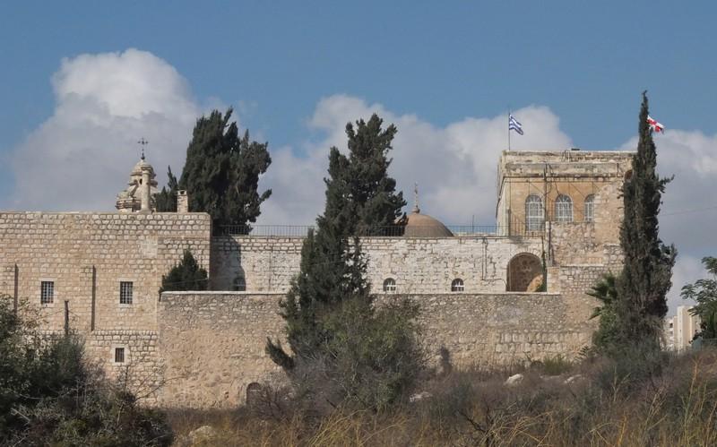 Прочие страны, Израиль, Иерусалим - Новый город. Монастырь Святого Креста, фотография. фасады
